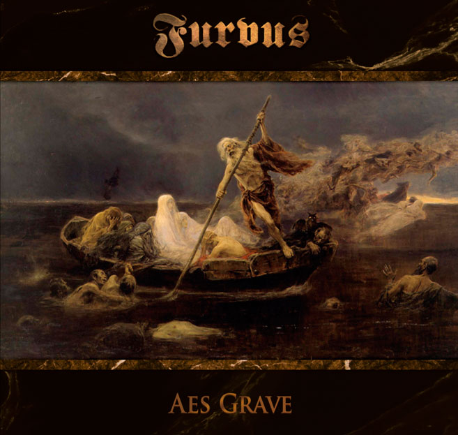 "image which shows Furvus new album ""Aes Grave"" (all music and vocals by Luigi Maria Mennella)"