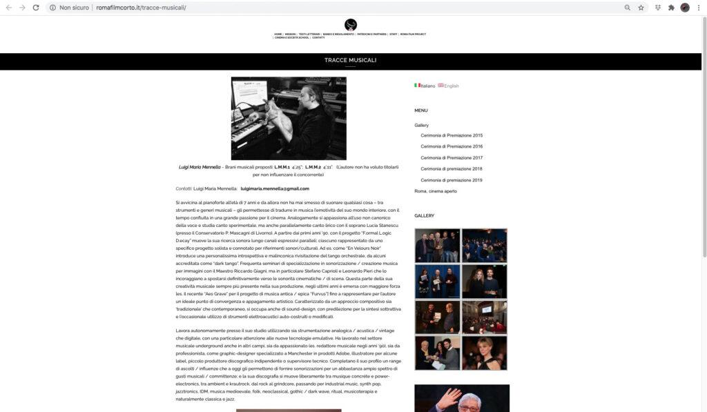 LMM RFC tracce musicali
