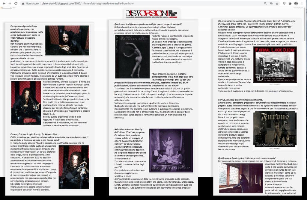 LMM interview Distorsioni part 2