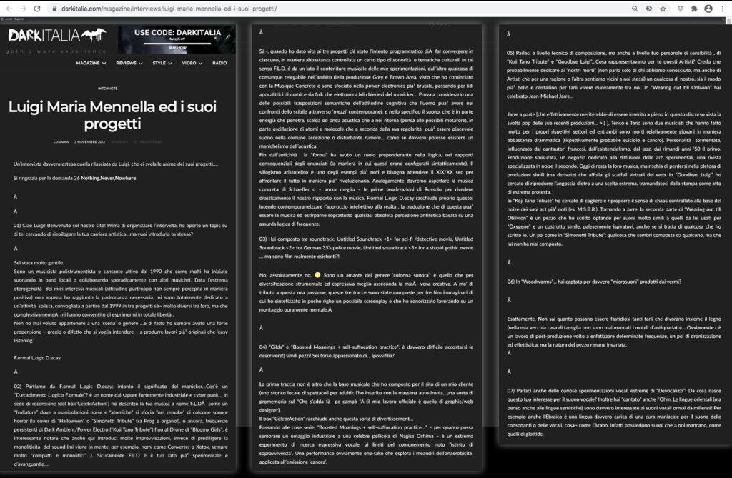 LMM intervista DarkItalia zoomed opt part 1
