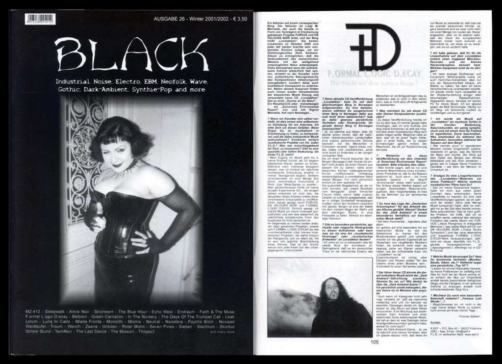interview FLD Black Magazine opt