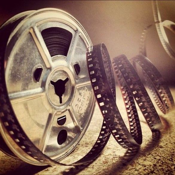 old cinema reel
